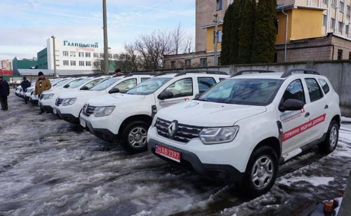 Медики Тернопільщини отримали 62 автомобілі «Renault Duster» (ФОТО)