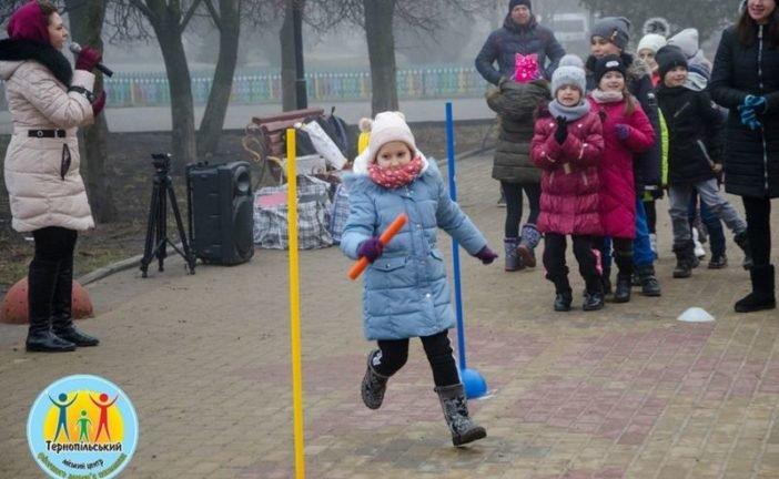 Для маленьких тернополян тривають «Зимові забави»