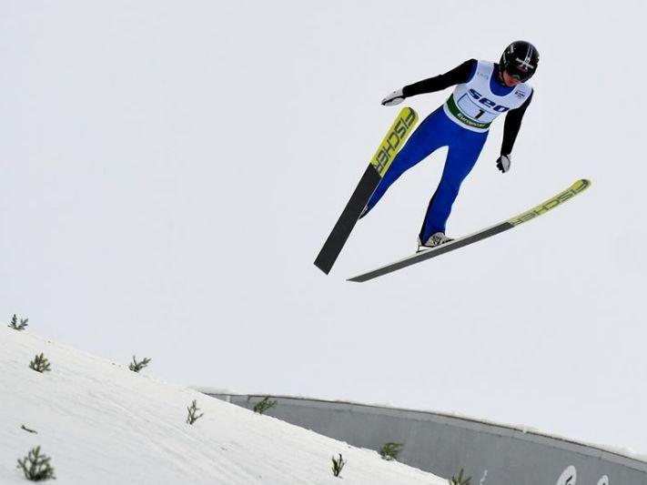 Кременчанин Дмитро Мазурчук показав гарні результати на Континентальному Кубку з лижного двоборства