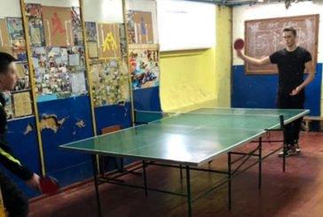 У Теребовлі школярі грали у настільний теніс та шахи (ФОТО)