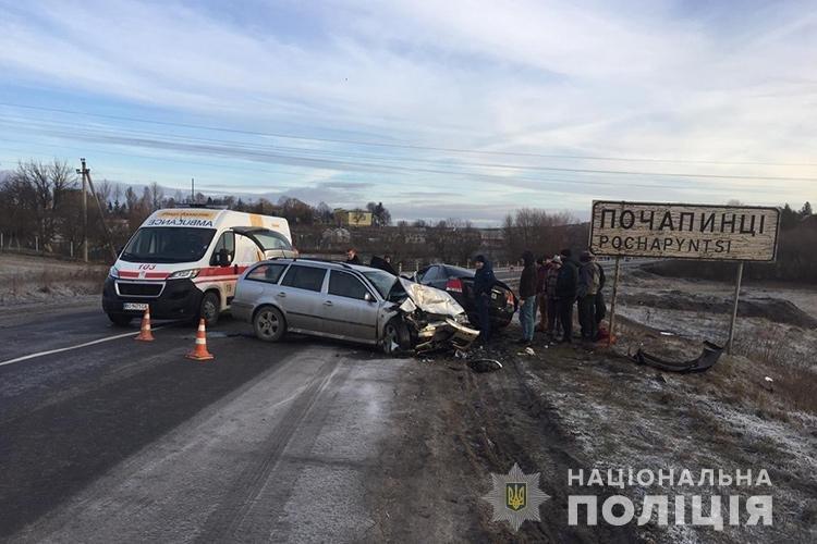 В лікарні помер водій, який потрапив у ДТП на Тернопільщині