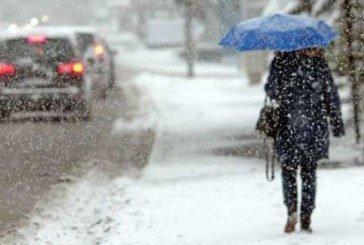У четвер падатиме сніг, буде вітряно і слизько