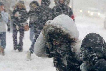 У вівторок – штормовий вітер та сніг із дощем: будьте обережні