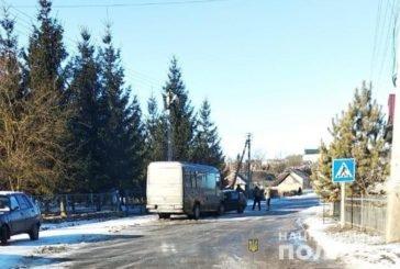 В ДТП на Тернопільщині зіткнулися пасажирський бус та іномарка (ФОТО)