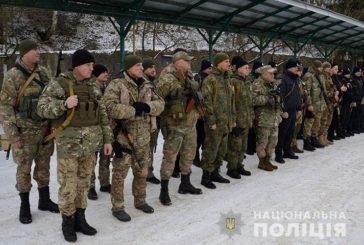 Тернопільських правоохоронців у зоні проведення ООС змінили колеги (ФОТО)