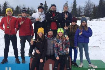 Збірна Тернопільської області – третя на чемпіонаті України з лижних гонок серед юнаків та дівчат