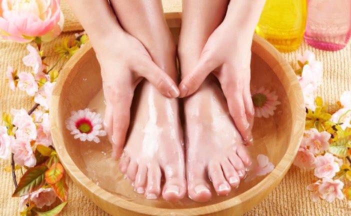 Парити ноги: користь і протипокази