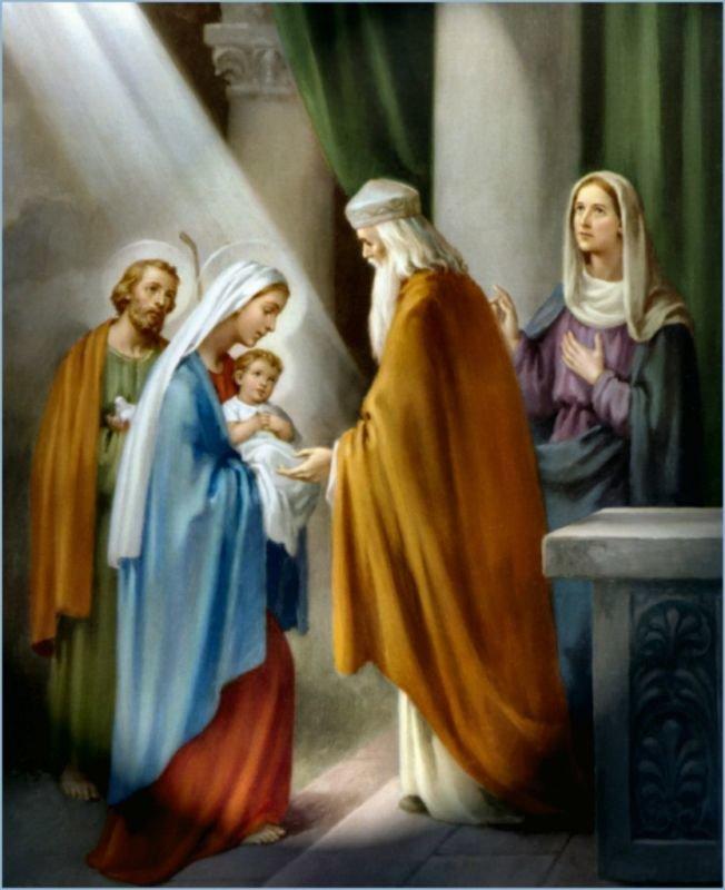 В обіймах праведного Семеона: сьогодні Стрітення Господнє