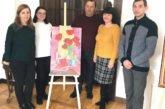 Вишнівецький палац запрошує на виставку: у старовинних залах представили картини учасниці мистецького гурту «Палітра» з Кременця Марії Швед