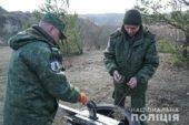 Тернопільські вибухотехніки знищили 9 бойових гранат та майже кілограм вибухівки