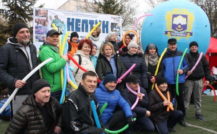 У Тернополі започаткували унікальне свято здорового способу життя та відсвяткували 34-й день народження клубу «Нептун» (ФОТО)
