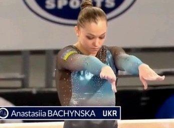 Тернополянка Анастасія Бачинська завоювала «бронзу» на етапі Кубка світу зі спортивної гімнастики
