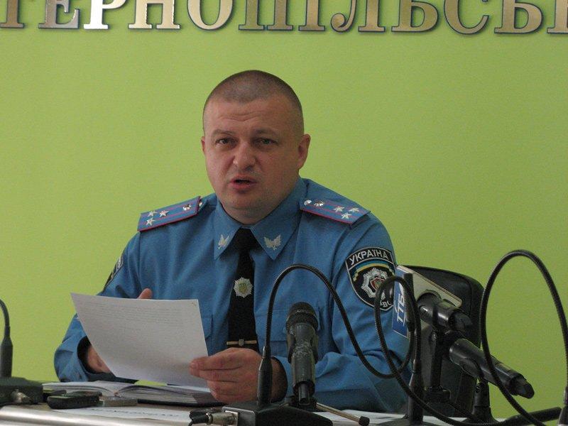 Начальник Нацполіції Тернопільщини звернувся до мешканців: не виходьте на вулицю