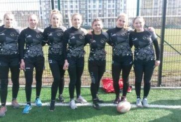 Жіноча команда «Універ-ТНЕУ» – переможець відкритого зимового Кубку Тернопільщини з регбі-7 (ФОТО)