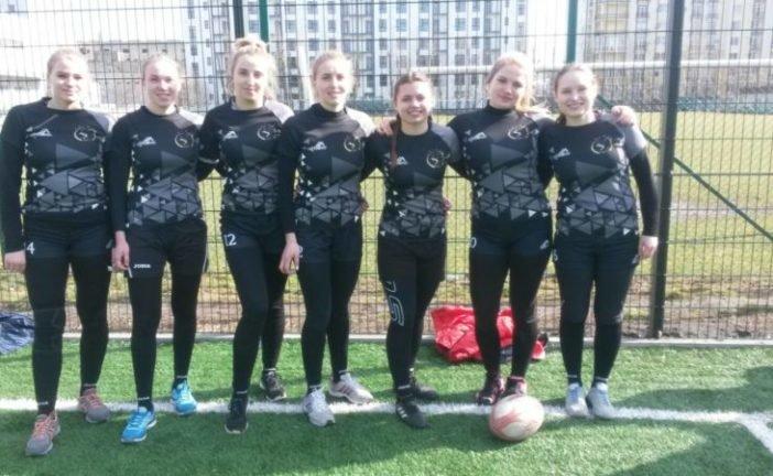 Жіноча команда «Універ-ТНЕУ» - переможець відкритого зимового Кубку Тернопільщини з регбі-7 (ФОТО)