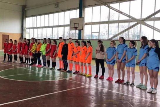 У Шумську дівчата визначали кращу футзальну команду області