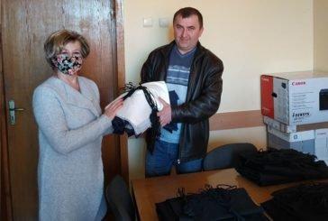 У закладах освіти Шумщини шиють багаторазові захисні маски (ФОТО)