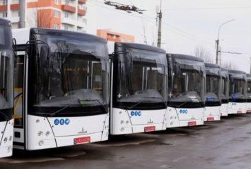 До Тернополя прибуло 20 нових низькопідлогових автобусів (ФОТО)