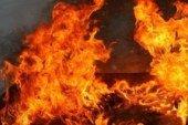 У Кременці, на території недіючого підприємства, згоріло 50 шпал