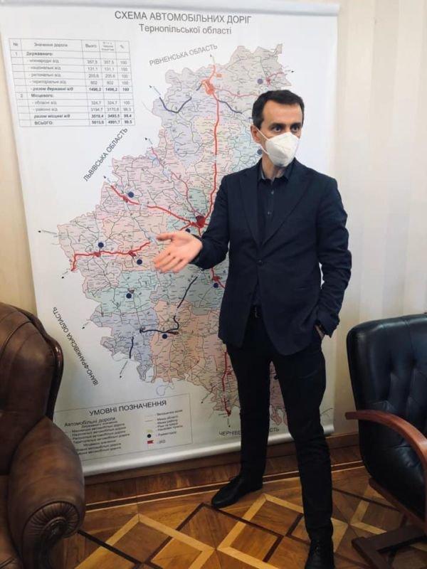 Головний санітарний лікар Віктор Ляшко перебуває на Тернопільщині: деталі візиту (фото)