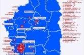 На Тернопільщині – 168 хворих на коронавірус (карта)