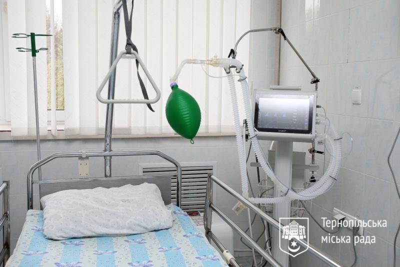 Чотири апарати штучної вентиляції легень передали третій Тернопільській міськлікарні (ФОТО)