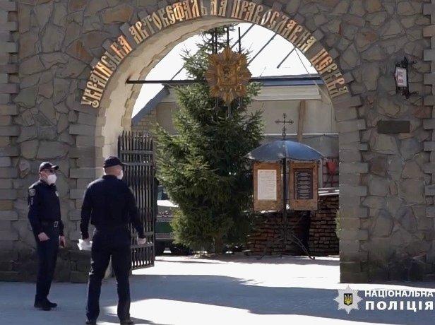 На Великдень правоохоронці нестимуть посилену службу біля тернопільських храмів