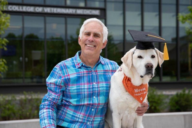 У США собака отримав почесне звання доктора наук