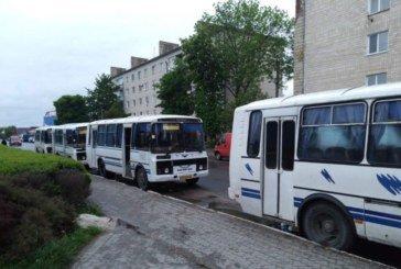 На Шумщині почали відновили приміське автобусне сполучення