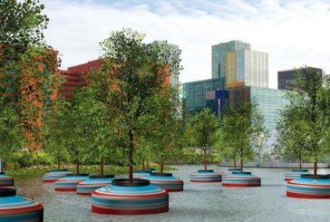 У Нідерландах почали будувати багатоповерхівки на воді