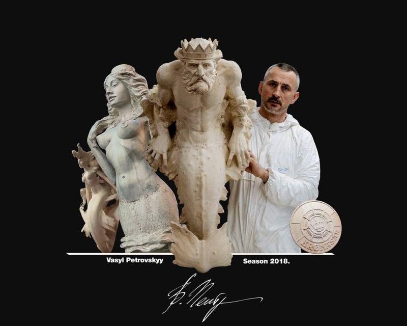 """""""Унікальна людина"""": відомий у Європі різьбяр прикрасить скульптурами ботанічний сад на Тернопільщині (ФОТО), фото-1"""