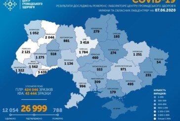 В Україні виявили ще 485 заражених коронавірусом, 11 людей померли