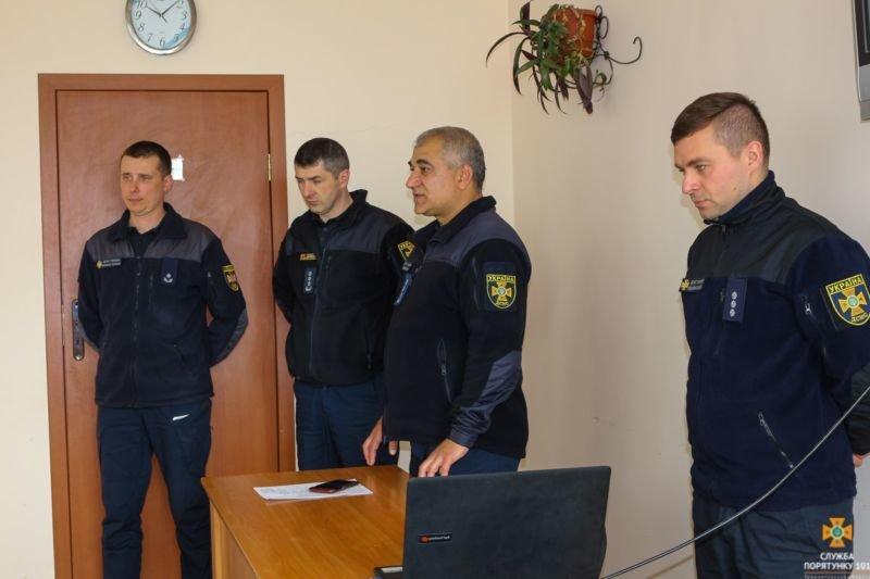 Тернопільські члени добровільної пожежної охорони переймають досвід польських колег (ФОТО)