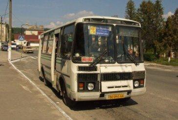 У Кременці відновить роботу громадський транспорт, але не повністю