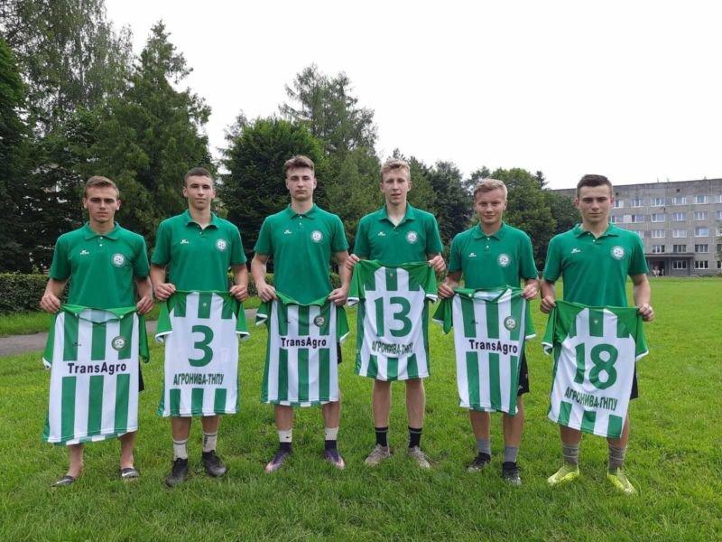 Тернопільська «Агронива-ТНПУ» презентувала нову футбольну форму (ФОТО)