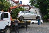 У Тернополі евакуюють авто за порушення правил паркування