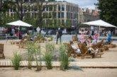 Головну площу Вільнюса перетворили на… пляж
