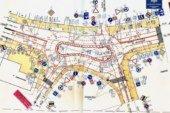 У Тернополі, на перехресті вулиць Оболоня-Митрополита Шептицького, облаштовано тимчасову кільцеву транспортну розв'язку
