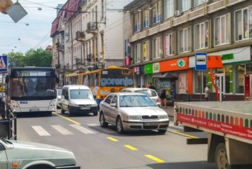 У центрі Тернополя змінили розмітку й в одному з напрямків дозволили проїзд