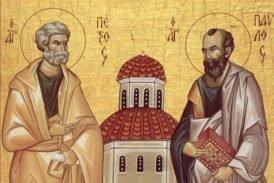 Поєднані духом Христовим: сьогодні — день святих первоверховних апостолів Петра і Павла