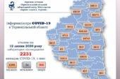 На Тернопільщині підтверджено 14 випадків зараження вірусом COVID-19
