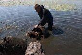 Водолази Тернополя затампували труби, через які, ймовірно, забруднюється озеро