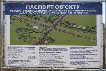 Коли завершать будівництво Гаївського мосту в Тернополі