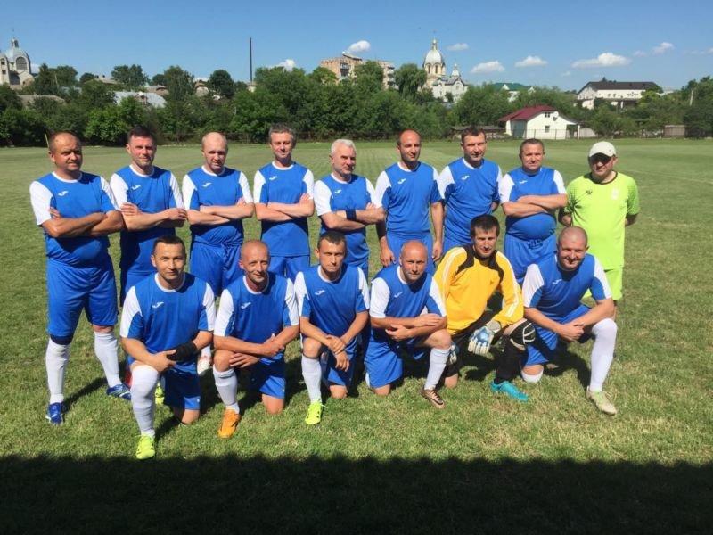 5 тур чемпіонату з футболу Тернопільщини серед ветеранів: результати