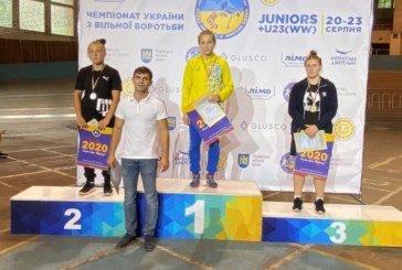 Студентка ТНЕУ – золота медалістка Чемпіонату України з вільної боротьби (ФОТО)