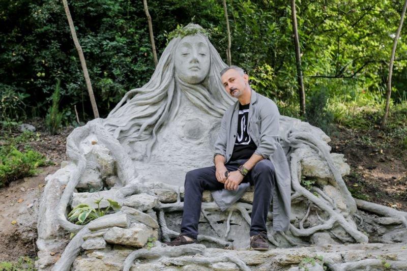 У Кременецькому ботанічному саду з'явився «Трон природи» (ФОТО)