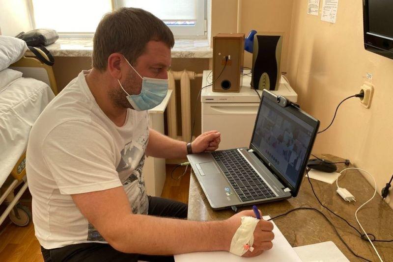 Голова Тернопільської ОДА Володимир Труш, у якого діагностували COVID-19, перебуває у лікарні