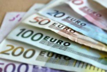 Євро в понеділок відчутно подорожчав