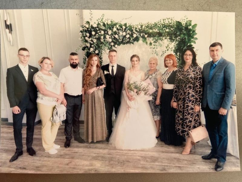Кадр дня: тернопільська лікарка, яка рятує життя хворих на коронавірус, вийшла заміж