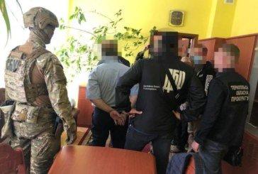 Начальнику Тернопільської ДПС і його сину, затриманим за вимагання, призначили 1 млн 420 тис. грн застави